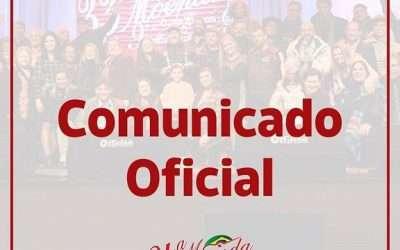 COMUNICADO – 34ª Moenda é adiada